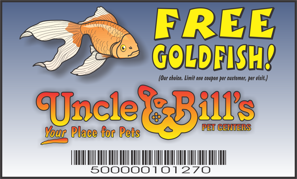 New Full Color Goldfish cards JOHN NEW DIMENSIONS