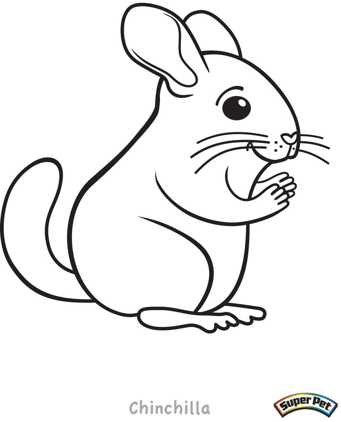 Critter coloring pages for Small animal coloring pages