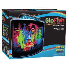 Tetra Glo Fish GloFish 5 Gallon Marineland Kit